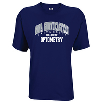 Russell Athletic Mens Cotton College of Optometry Tee