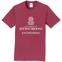 South Carolina Gamecocks Engineering Short Sleeve  Tee