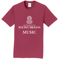 South Carolina Gamecocks Music Short Sleeve  Tee