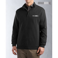 Cutter and Buck Journey Supima Flatback Half zip Sweater