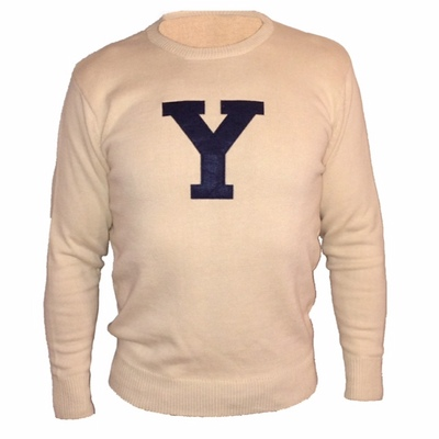 The Yale Bookstore - Cotton Crew Sweater