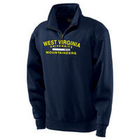WVU Mountaineers Jansport 1/4 Zip Pullover