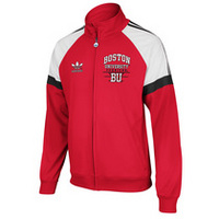 BOSTON UNIVERSITY ADIDAS TRACK JACKET