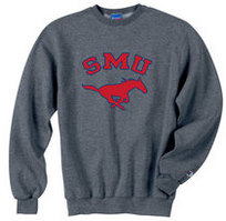SMU Mustangs Champion Crew Sweatshirt