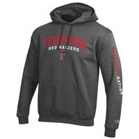 Texas Tech Red Raiders Champion Powerblend Fleece Hoodie