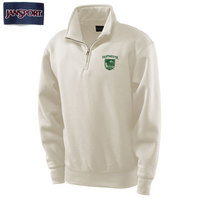 JanSport 1/4 Zip Dartmouth Big Green Pullover