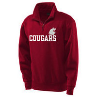 Washington State Cougars Jansport 1/4 Zip Pullover