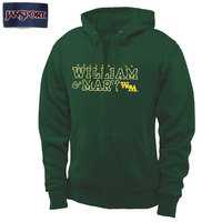 William & Mary Tribe Women s Double Bar Pullover Hoodie - Green