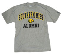 Southern Mississippi Eagles Russell Alumni T-Shirt