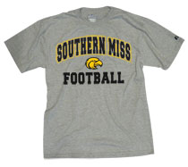 Southern Mississippi Eagles Russell Football T-Shirt