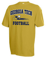 Georgia Tech Russell Football TShirt