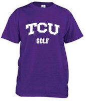 TCU Horned Frogs Russell Golf T-Shirt