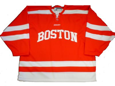 Boston Terriers Bauer Replica Away Jersey