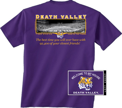 LSU Tigers New World Graphics Attitude T-Shirt