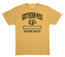 Southern Mississippi Eagles League Tri-Blend T-Shirt