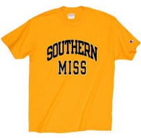 Southern Mississippi Eagles Champion T-Shirt