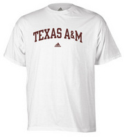 Texas A&M Aggies adidas Arched T-Shirt