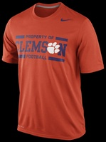 Nike Clemson New 2013 Legend Number Tee