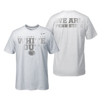 Official Nike Penn State White Out Short Sleeve Tee