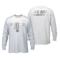 Official Nike Penn State White Out Long Sleeve Tee