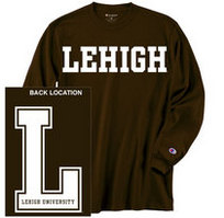 Lehigh Champion Long Sleeve T-Shirt