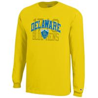 Delaware Blue Hens Champion Long Sleeve T-Shirt