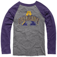 League Victory Falls Triblend Long Sleeve Baseball Tee