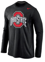 Nike Ohio State Logo long sleeve Cotton Tee