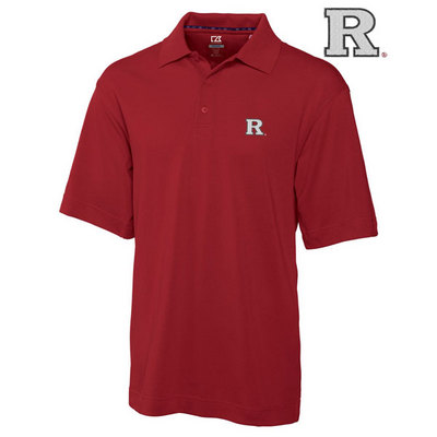 Rutgers Scarlet Knights Cutter & Buck Drytec Pique Polo