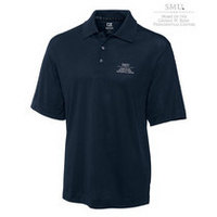 SMU Mustangs Cutter & Buck Drytec Pique Polo