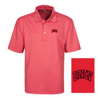 Oxford America Solid Embossed Polo