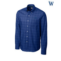 Cutter & Buck Long Sleeve Completion Plaid