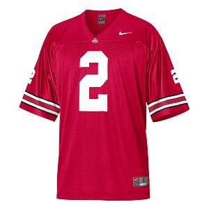 Ohio State Buckeyes Nike Tackle Twill Football Jersey