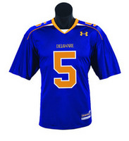 Delaware Blue Hens Under Armour Replica Football Jersey