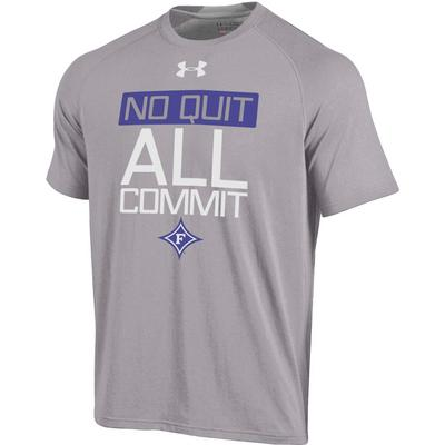Under Armour Charged Cotton Back Insert T Shirt