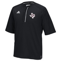 Adidas Short Sleeve Quarter Zip