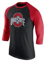 Nike three quarter TriBlend Raglan