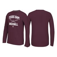 Adidas Ultimate Long Sleeve Baseball Tee