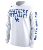 Nike UK Wildcats Long Sleeve Mentality Tee