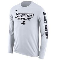 Nike Providence College Long Sleeve Mentality Tee