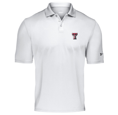 Texas Tech Red Raiders Under Armour Heat Gear Loose Fit Team Polo