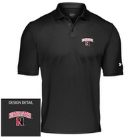 Northeastern Huskies Under Armour Heat Gear Loose Fit Team Polo