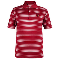 Adidas Textured Striped Polo