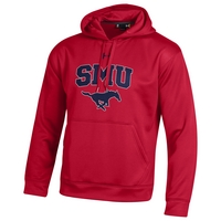 SMU Mustangs Under Armour Cold Gear Loose Fit Hoodie