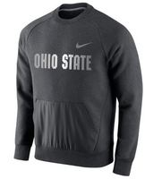 Nike Mens Sideline Pullover Crew Neck Fleece
