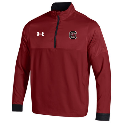Under Armour Sideline Mastermind Woven Quarter Zip Pullover