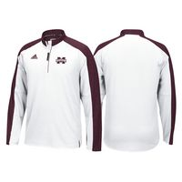 Adidas Sideline Long Sleeve Quarter Zip Pullover