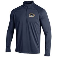 Under Armour Sideline Stripe Knit Quarter Zip Pullover
