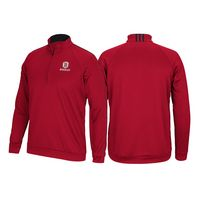 Adidas 3 Stripe Quarter Zip Sweatshirt