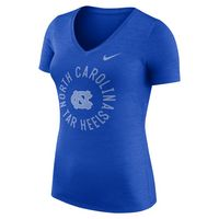 Nike Womens Short Sleeve V Neck Tee